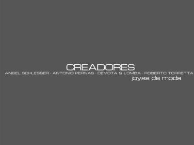 Creadores Joyas de Moda, catálogo gris