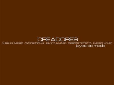Creadores Joyas de Moda, catálogo marrón