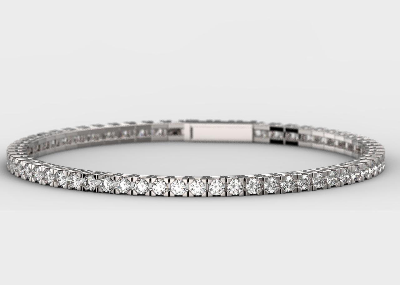 Pulsera Riviere Diamantes Le Cado