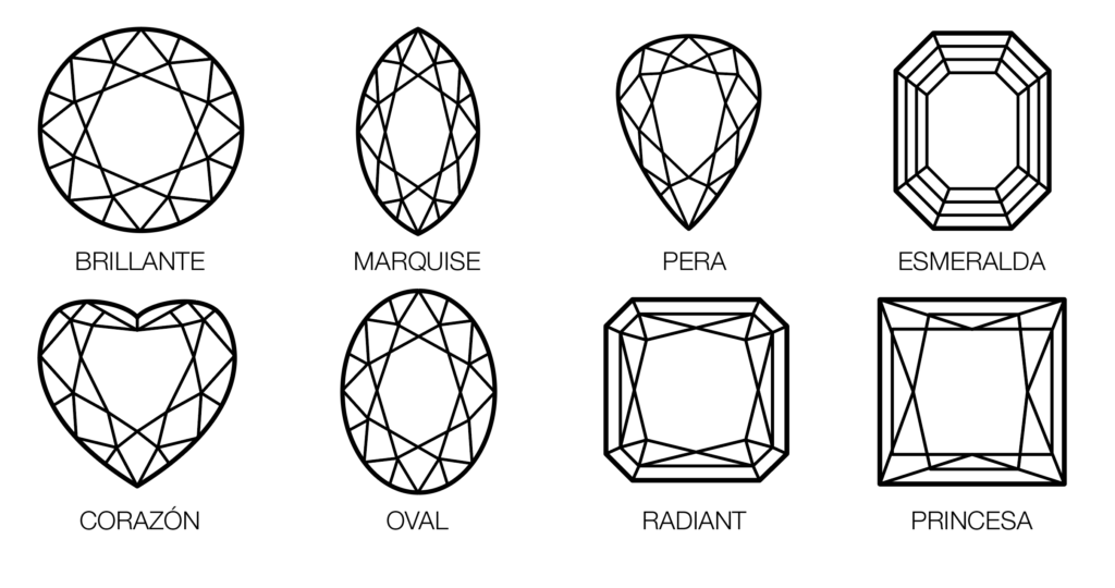 Tallas Diamantes Le Cado